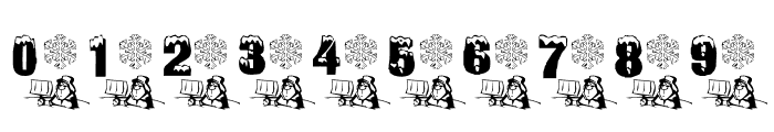 Winter Fun Font OTHER CHARS