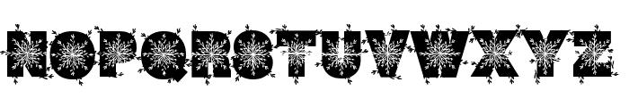 WinterDecor Font UPPERCASE