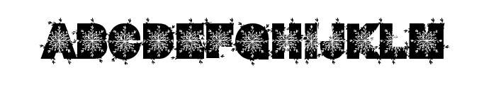 WinterDecor Font LOWERCASE