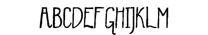 WinterMint-Regular Font UPPERCASE
