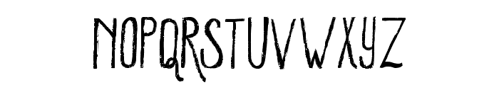 WinterMint-Regular Font LOWERCASE