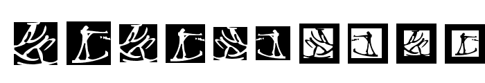 WinterSports Font OTHER CHARS