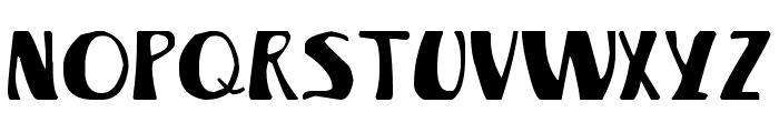 Winterland Font UPPERCASE