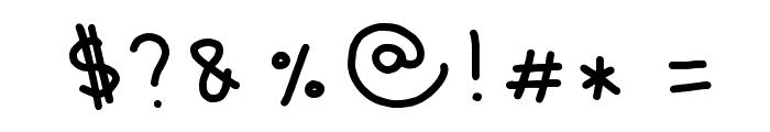 Wintermelon Font OTHER CHARS
