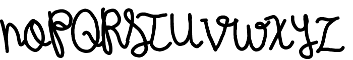 Wintermelon Font UPPERCASE
