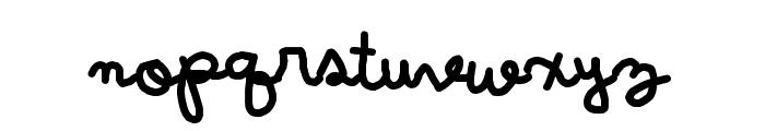 Wintermelon Font LOWERCASE