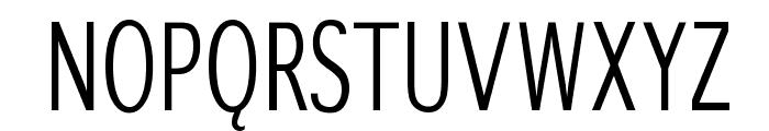 WinterthurCondensed Font UPPERCASE