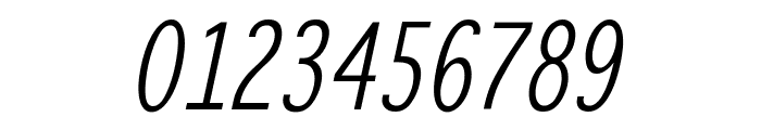 WinterthurCondensedOblique Font OTHER CHARS