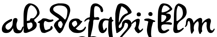 WirWenzlaw Font LOWERCASE