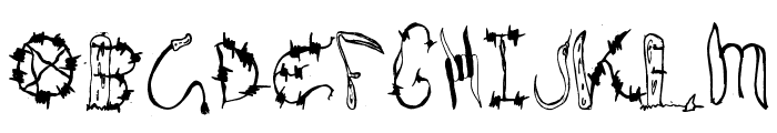 Wires and Cowboys Font LOWERCASE
