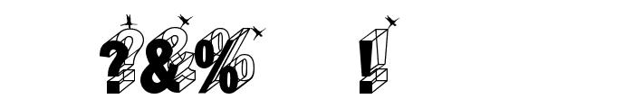 WirewalkersVertigo Font OTHER CHARS