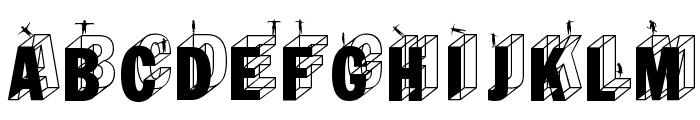 WirewalkersVertigo Font LOWERCASE