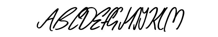Wishing Well Font UPPERCASE