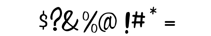 Witched Font OTHER CHARS