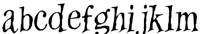Witches Magic Font LOWERCASE