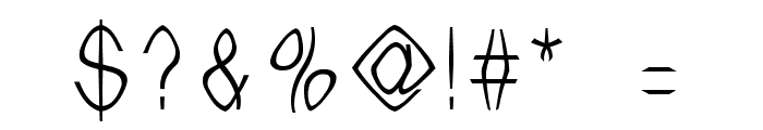 WitchesBrew 1999 Font OTHER CHARS