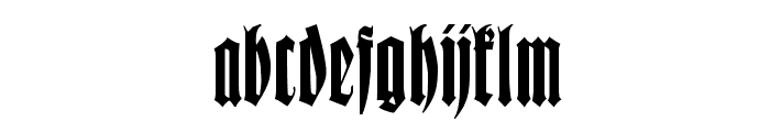 Wittenbach Demo Font LOWERCASE