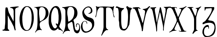 Wizards' Magic Font UPPERCASE