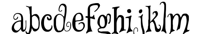 Wizards' Magic Font LOWERCASE