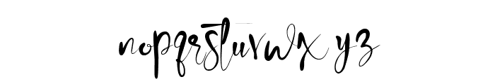 winteria Font LOWERCASE