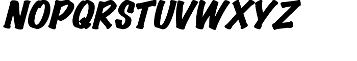 Wichita Black Italic Font UPPERCASE