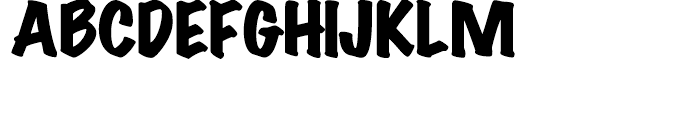 Wichita Black Font UPPERCASE