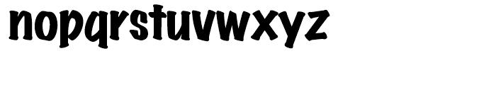 Wichita Black Font LOWERCASE