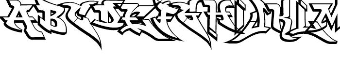 Wild Basic Font UPPERCASE