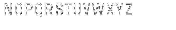 Wilma Interior C Font UPPERCASE