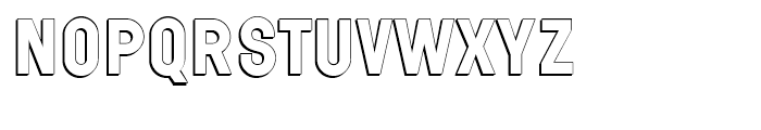 Wilma Volum A Font UPPERCASE