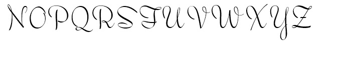 Wilmington BF Regular Font UPPERCASE