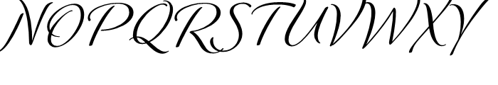Winsome Regular Font UPPERCASE