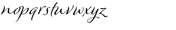 Winsome Regular Font LOWERCASE
