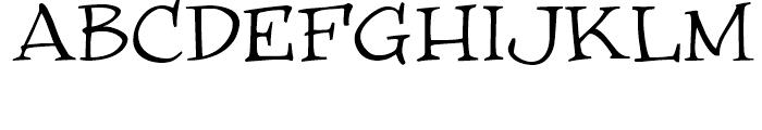 WinstonNero Regular Font UPPERCASE