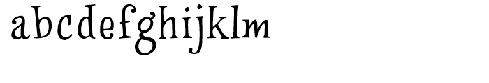 WinstonNero Regular Font LOWERCASE
