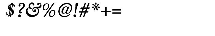 Winthorpe Semibold Italic Font OTHER CHARS