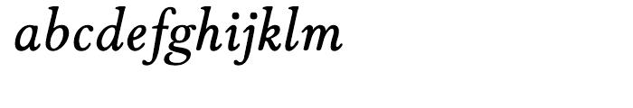 Winthorpe Semibold Italic Font LOWERCASE