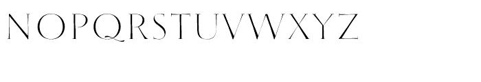 Wishes Script Caps Display Regular Font UPPERCASE