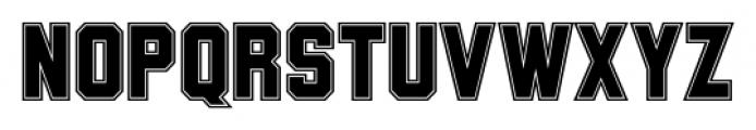 Wildcat College Font UPPERCASE