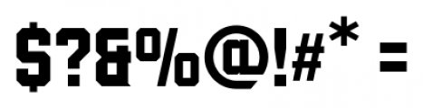 Wildcat Regular Font OTHER CHARS