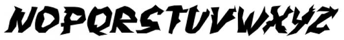 WILD1 Larra Normal Italic Font UPPERCASE