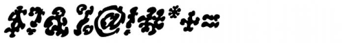 WILD1 Ruts Bold Italic Font OTHER CHARS