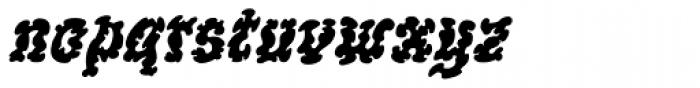 WILD1 Ruts Bold Italic Font LOWERCASE