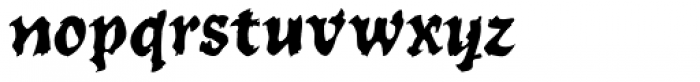 WILD1 Toxia Normal Font LOWERCASE
