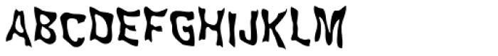 WILD2 Ghixm Normal Font UPPERCASE