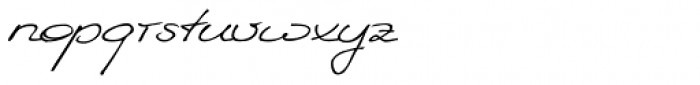 WIP EU First Lady Font LOWERCASE