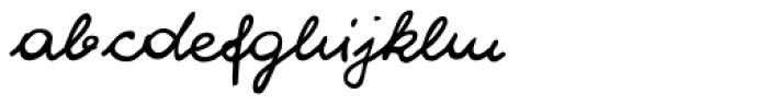 WIP EU Sugar Baby Font LOWERCASE