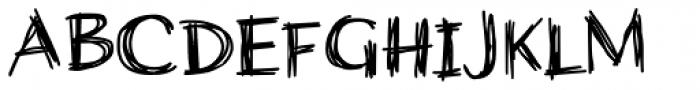 Wiccan Sans Font UPPERCASE