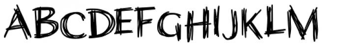 Wiccan Sans Font LOWERCASE