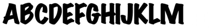 Wichita Black Font UPPERCASE